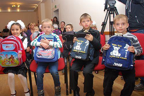 В Гомеле проходит акция «Соберём портфель первокласснику»