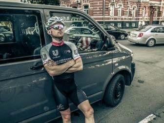 Велосипедист, устанавливающий мировой рекорд, проедет через Гомель