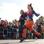 Бег на каблуках в Гомеле выиграла воспитатель детсада