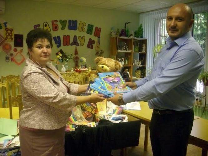 Благотворительная акция «Детям к школе!»