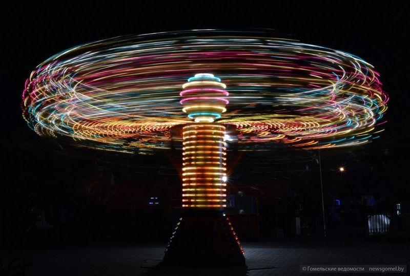 Фотопрогулка по вечернему гомельскому парку