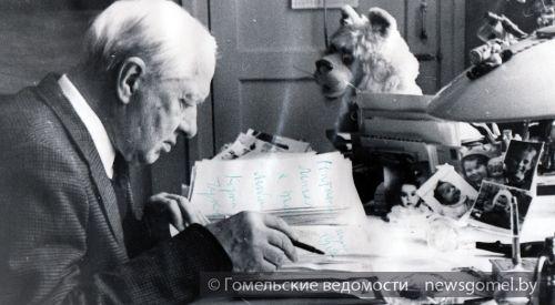 Гомель проезжали Сергей Есенин и Корней Чуковский