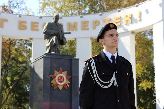На Аллее Героев прошла гражданско-патриотическая акция «Пост №1»