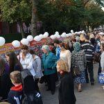 Около 200 гомельчан отыскали себя на огромном баннере