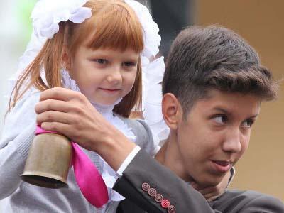 Первый звонок прошел в единственной белорусскоязычной гимназии Гомеля