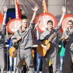 В День города в Гомеле вызвали дух СССР