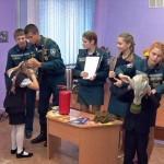 В школах закрепляют у детей навыки поведения в экстренных случаях