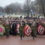 В Гомеле у памятника воинам-интернационалистам состоялся митинг