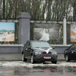 "Арт-проект ""Парочки"" на заборе Гомельского дворцово-паркового ансамбля"