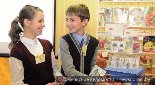"""""""Белпочта"""" провела в гимназии №58 День посткроссера"""
