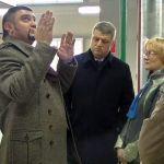 Глава администрации Новобелицы посетил жиркомбинат и «Гомельобои»