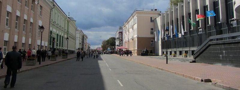 Ланге, улица