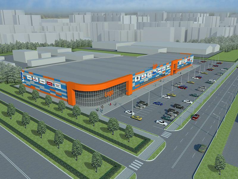 На пересечении Ефремова и Советской построят строительный супермаркет