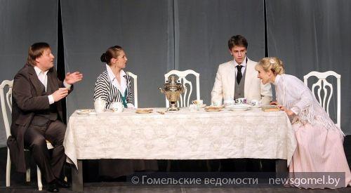"""Премьера спектакля """"Нарисованное небо"""" в Гомеле"""