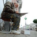 Талант без определенного места жительства: репортаж о бездомном художнике