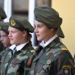 Учащиеся военно-патриотических классов школы №3 дали торжественное обещание