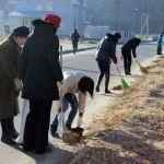 В  Новобелицком районе прошёл субботник