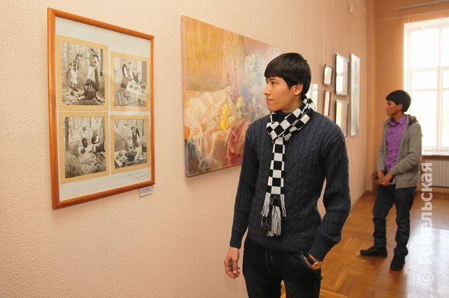 Выставка Елены Ковалевой