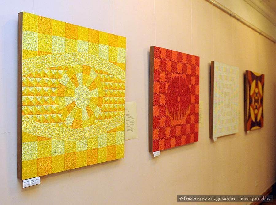 Выставка в технике пуантиколор открылась в Гомеле