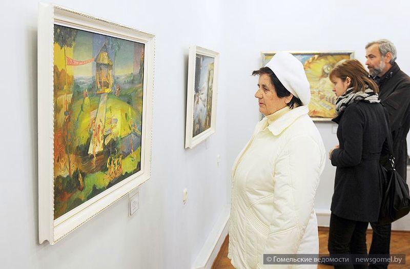 Выставка живописи Арсения Дворонина открылась в Гомеле