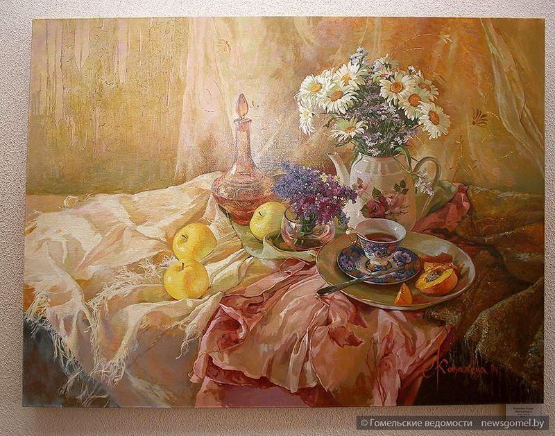 Выставка живописи и графики открылась в Гомеле
