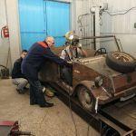 Копия немецкого автомобиля времен войны выйдет из стен гомельского колледжа
