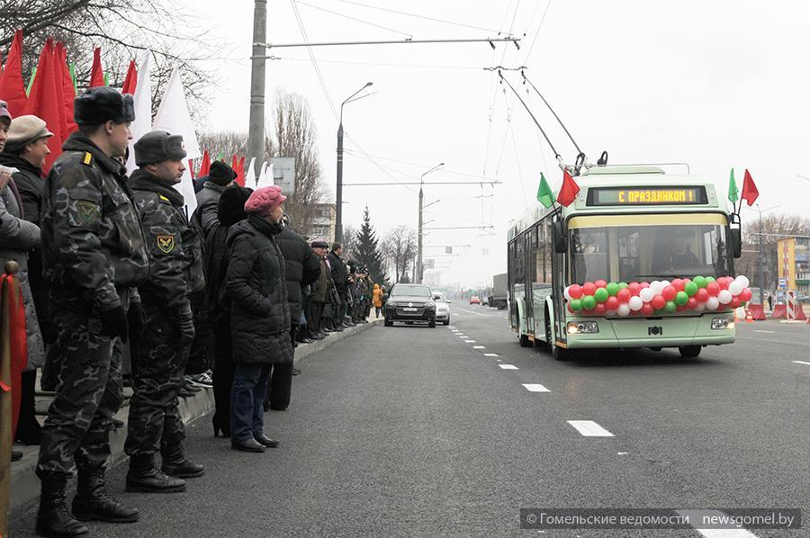 Торжественное открытие улицы Барыкина