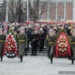 Торжественный митинг у мемориального комплекса Аллея Героев