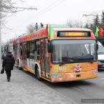 В Гомеле запустили исторический троллейбус