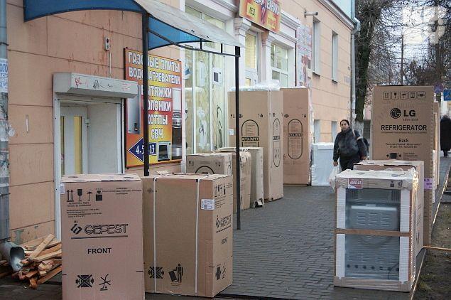 Белорусы опустошают российские магазины