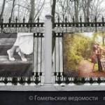Фотографы Гомеля украсили забор парка и рассказали о себе