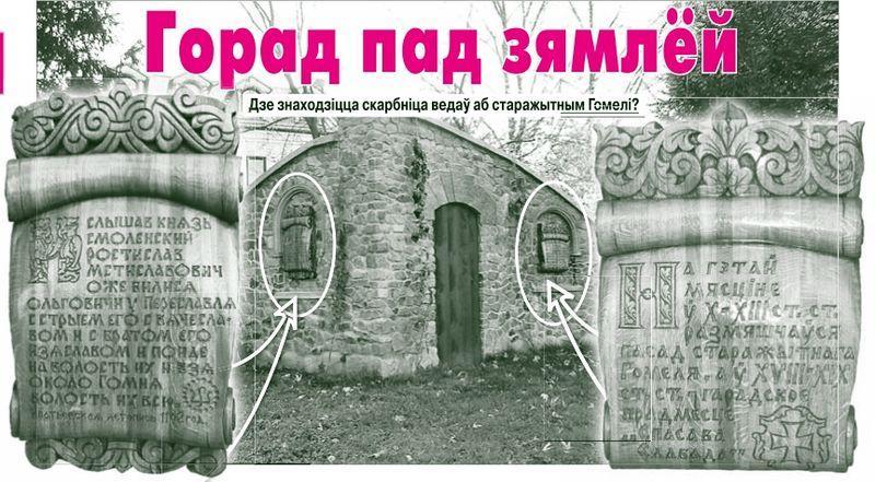 Где находится сокровищница знаний о древнем Гомеле?