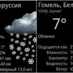 Метаморфозы погоды в Беларуси