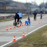 Городские соревнования юных велосипедистов прошли в Гомеле