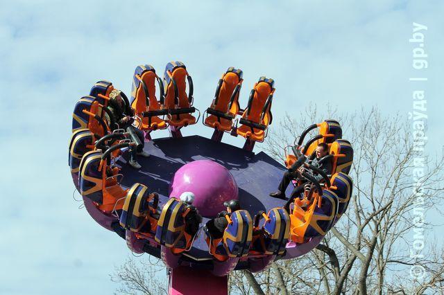 Уже в субботу в главном парке Гомеля может заработать новый аттракцион