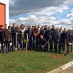 Аллея 25-летия Гомельского медуниверситета появилась в Гомеле