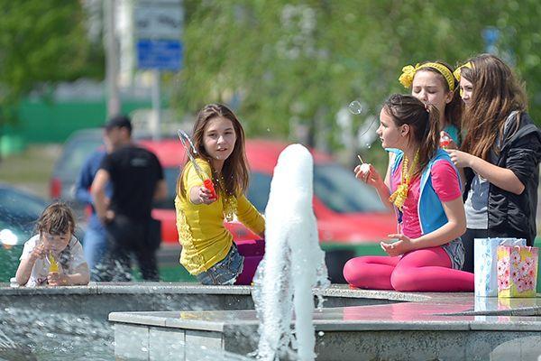 Первого мая в Гомеле открывается сезон фонтанов