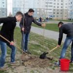 Субботник в Новобелицком районе