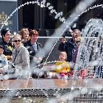 Праздник фонтана в Центральном районе