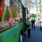 С 4 по по 10 мая по Гомелю курсирует автобус Победы