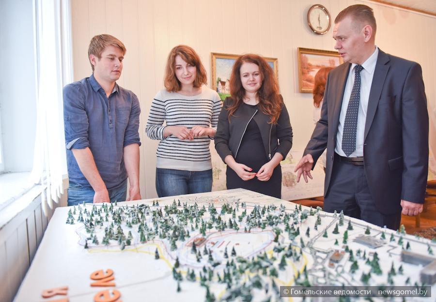 В Гомеле подвели итоги Х открытого конкурса эскизных проектов