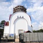В Гомеле строится храм святого Пантелеимона