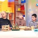 Юные изобретатели Гомельского городского центра дополнительного образования детей и молодежи в гостях у программы «Утро» на СТВ