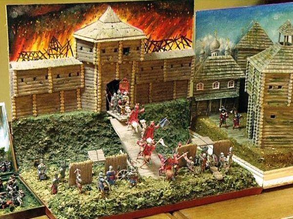 В ДК железнодорожников открылась выставка исторической миниатюры