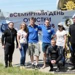 Чистку акватории озёр провели сотрудники Гомельского дайвинг-центра