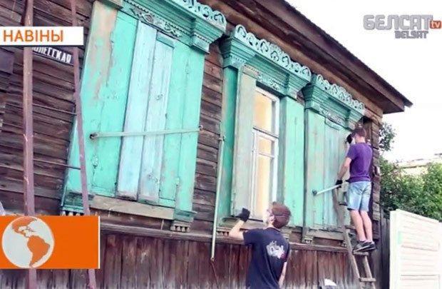 Гомельские волонтеры самостоятельно восстановили архитектурный памятник