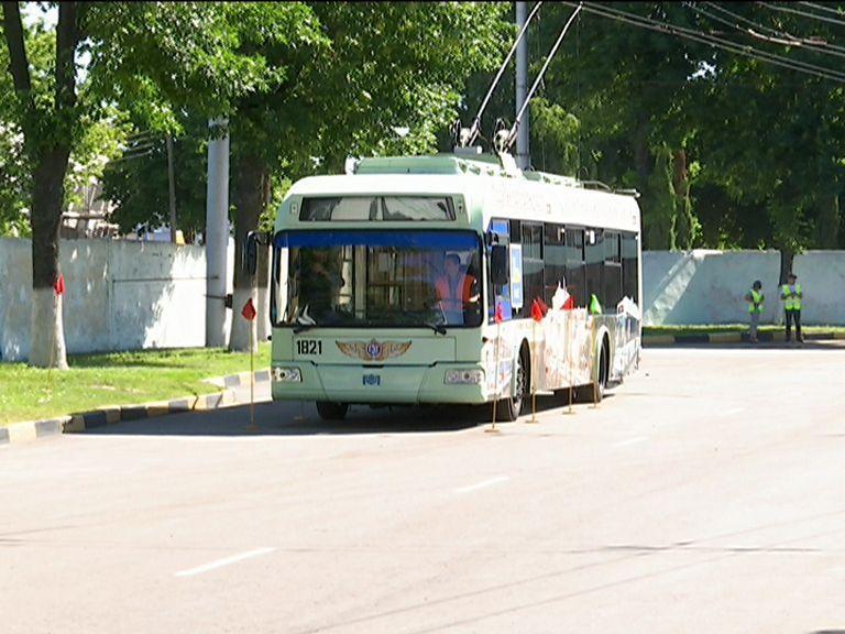 Конкурс профессионального мастерства водителей троллейбусов