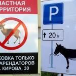 Замечено: правила парковки в Гомеле