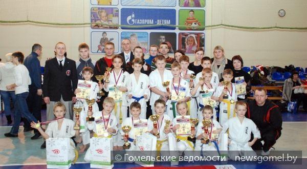 Шесть золотых медалей привезли гомельчане из города Торжок