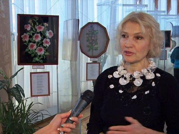 В ДРиП открылась выставка гомельской мастерицы Елены Тихончук